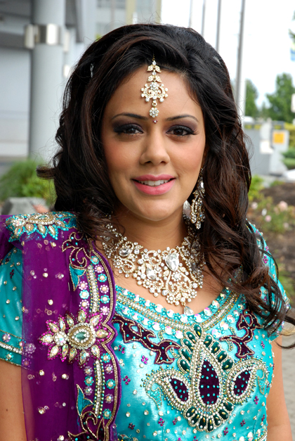 Lovely And Light Indian Wedding Makeup By Kim