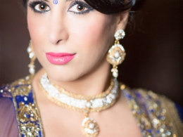 Non-Bridal Indian Makeup by Kim Basran