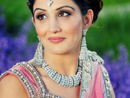 Pretty in Pink Indian Bridal Makeup by Kim Basran