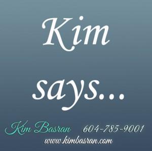 kim says