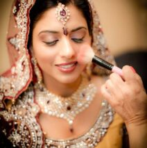 Creating a bridal look
