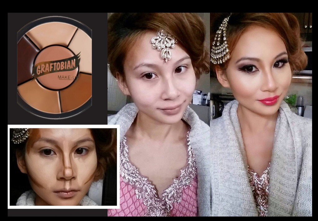before and after contour makeup by Kim Basran copy