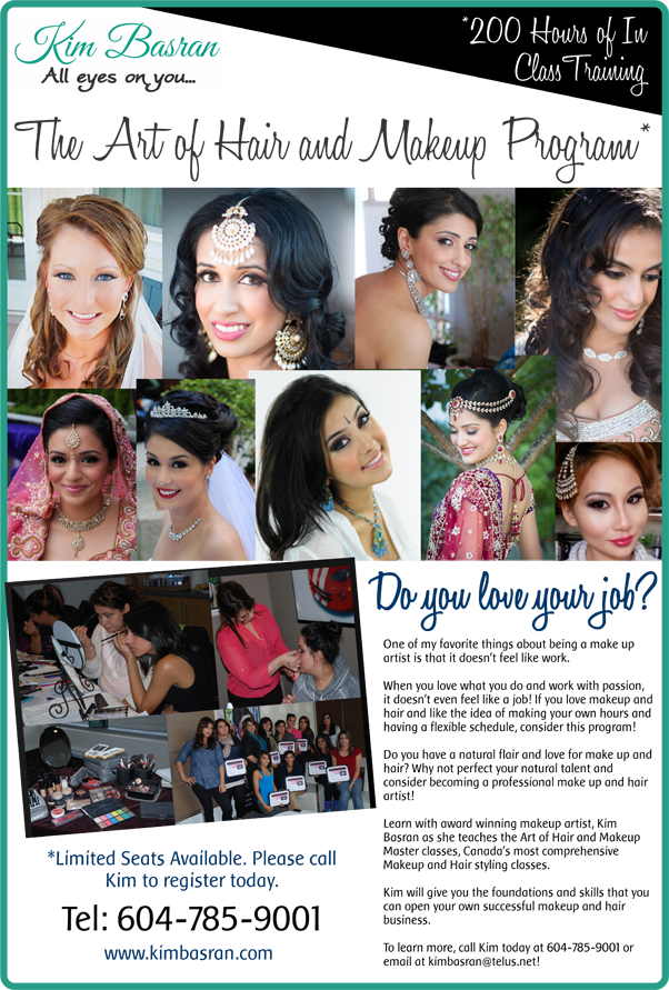 master classes for aspiring makeup artists hair and makeup